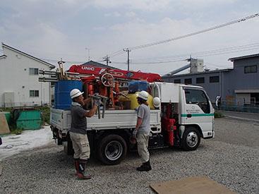 千代田ソイルテックの地盤調査