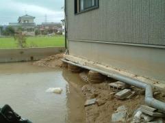 新潟大洪水後の地盤